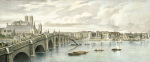 View of the North Bank of the Thames I (detail) by T.M. Baynes