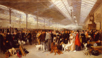 Perth station, going south 1895 by George Earl