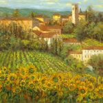 Provencal Village IV by Longo