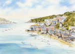 Fowey from Boddinick by John Chrisnall