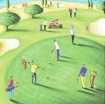 18th Hole by Jo Parry