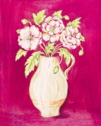 Les Fleurs Rose II by Nicola Corrigan