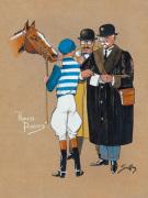 Honest Punters by Charles Johnson Payne (Snaffles)