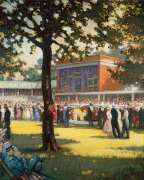 Ascot Race Course by Anonymous