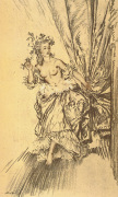 Madame du Barry as Bacchante
