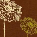 Chrysanthemum Square I by Alice Buckingham