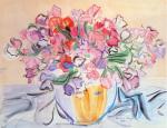 Vase de pois de senteur by Raoul Dufy