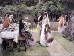 The Wedding Breakfast by Walter Dendy Sadler