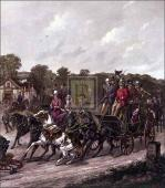 Returning from the derby by Henry Alken
