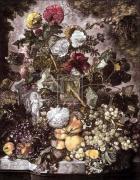 Fruit Piece by Jan Van Huysum