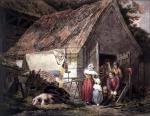 Morning or higlers preparing market by George Morland