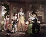 A visit to the boarding school by George Morland