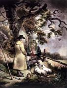The shepherd's meal (large) by George Morland