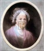 Mrs Washington by Gilbert Stuart