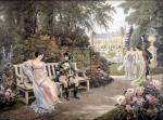 Bonaparte and Josephine by Lionel Peraux