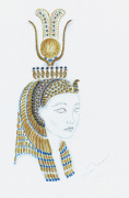Designs For Cleopatra XIV by Oliver Messel