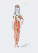 Designs For Cleopatra XXXIX by Oliver Messel