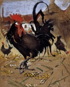 Black Spanish Cock by Joseph Crawhall