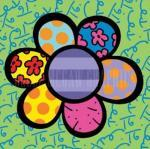 Flower Power IV by Romero Britto