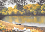 Golden Pond by Diane Romanello