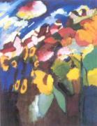 Murnau Garden 11, 1910 by Wassily Kandinsky