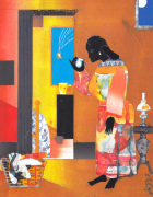 Falling Star, 1979 by Romare Bearden