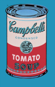 Campbell's Soup Can 1965 (pink & red)