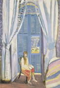 French Window at Nice late 1919