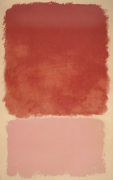 Untitled (Red over Pink) 1968