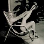 Marilyn Poolside