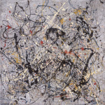 Number 18, 1950 by Jackson Pollock
