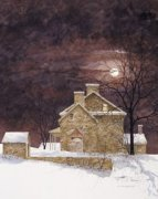 Rust Moon by Ray Hendershot