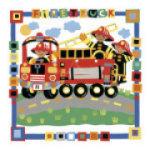 Firetruck by Cheryl Piperberg