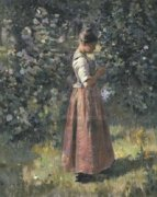 In the Grove, c. 1888 by Theodore Robinson