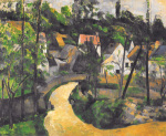 Turn in the Road, c.1881 by Paul Cezanne