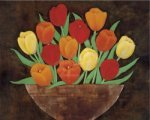 Tasteful Tulips by R. Rafferty