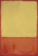 The Ochre (Ochre, Red on Red), 1954 by Mark Rothko