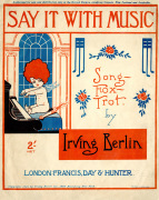 Say it with Music by Irving Berlin, 1921 by Anonymous