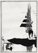 A Platonic Lament, Salome, by Oscar Wilde by Aubrey Beardsley
