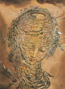 Raphaelesque Head Exploded by Salvador Dali