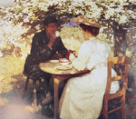 In The Spring by Harold Knight