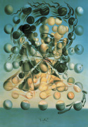 Galatea of the spheres by Salvador Dali