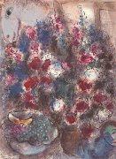 The Large Bouquet by Marc Chagall