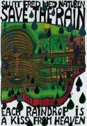 Save the Rain by Friedensreich Hundertwasser