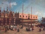 St Marks Square by Giovanni Canaletto