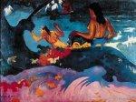 Fatata te miti (Near the Sea) by Paul Gauguin