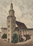 Forst, Nicolaikirche by Bruck
