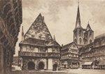 Halberstadt, Fischmarkt by Bruck