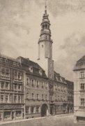 Lauban, Rathaus by Bruck