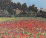 Mohnfeld in der Provence by Eleonore Baur-Brinkman